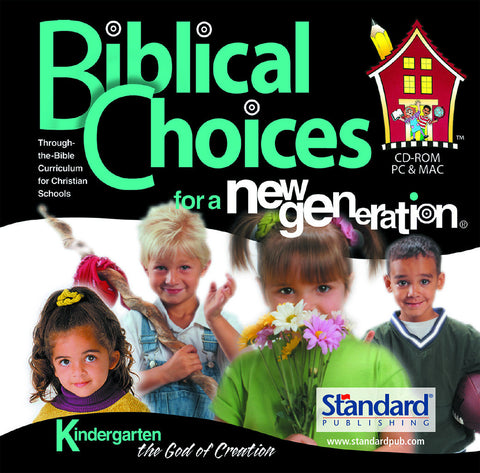 Biblical Choices - Kindergarten CD-ROM