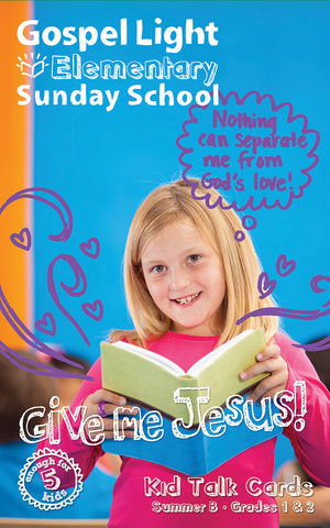 Gospel Light Elementary Kid Talk Cards
