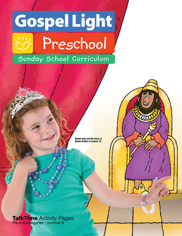 Gospel Light Pre-K TalkTime Activity