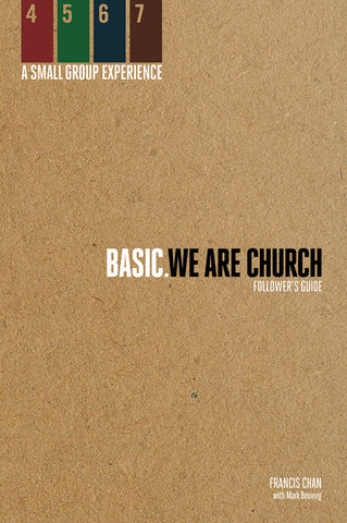 Basic: We Are Church - Follower's Guide