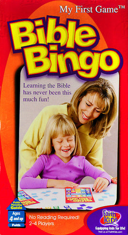 Bible Bingo Board Game
