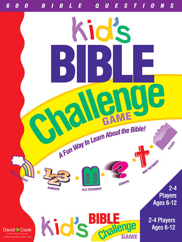 Kid's Bible Challenge Game
