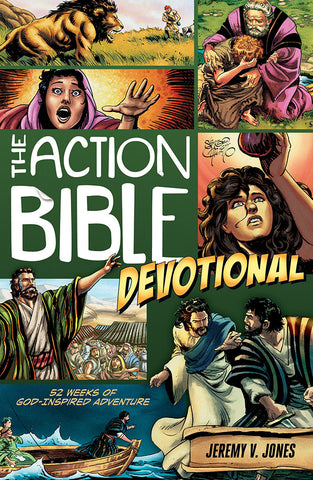 The Action Bible Devotional by Jeremy V. Jones