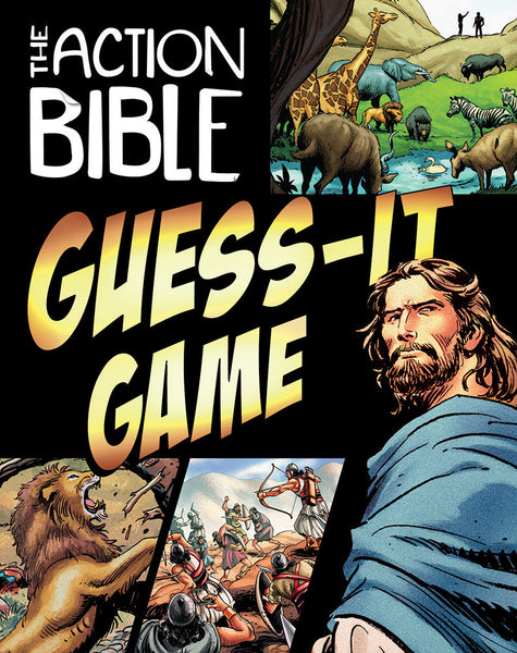 The Action Bible Guess It Game Kids Sunday School