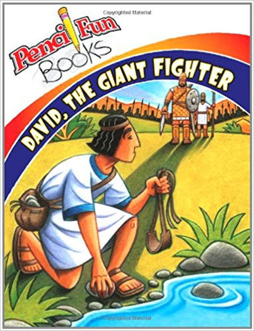 David Giant Fighter (Pencil Fun Books) (10-Pack)