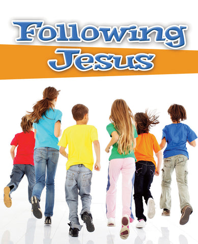 Following Jesus Discipleship Booklet