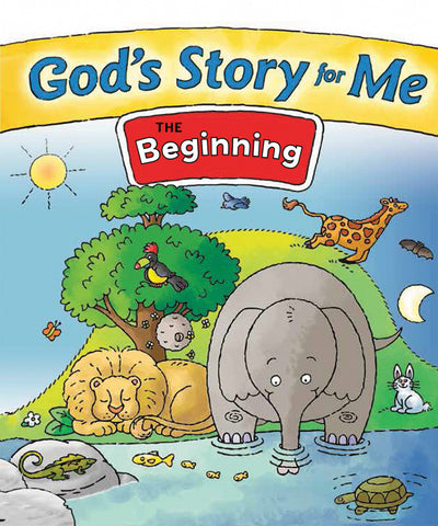 God's Story for Me - The Beginning Mini Book