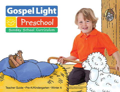 Gospel Light Pre-K Teacher Guide | Winter Year A