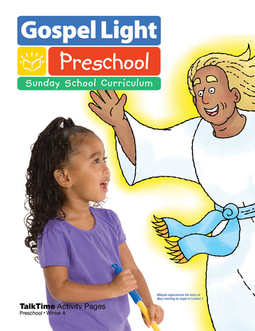 Gospel Light Preschool TalkTime Activity Ages 2 & 3 | Winter Year A