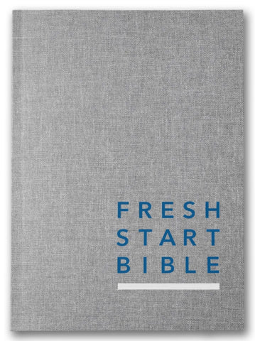 Fresh Start Bible (NLT): Hardcover / Linen | Gateway Publishing