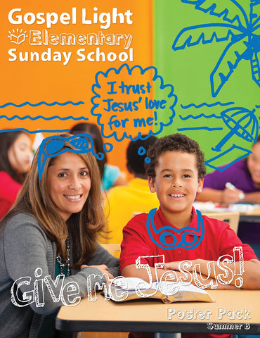 Elementary Bible Teaching Poster Pack