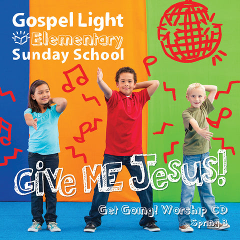 Elementary Get Going! Worship CD - Grades 1-4
