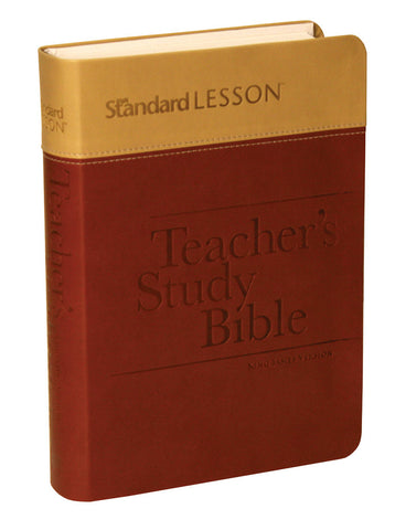 KJV Standard Lesson Teacher's Study Bible (Duotone)