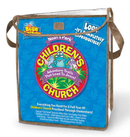 Noah's Park Children's Church Kit - Blue Edition