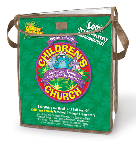 Noah's Park Children's Church Kit - Green Edition