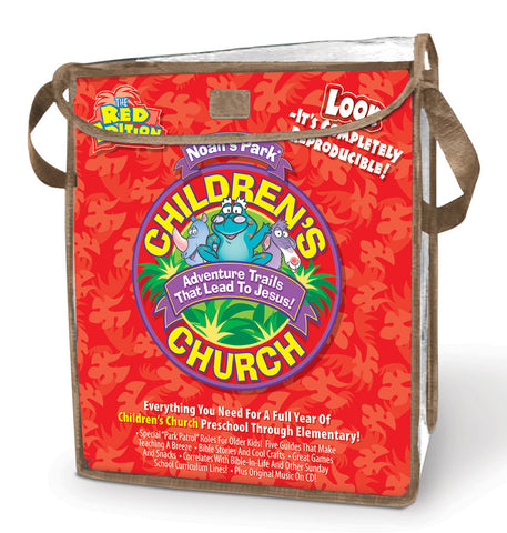 Noah's Park Children's Church Kit - Red Edition