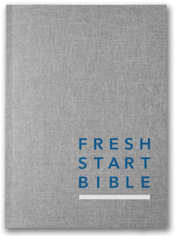 Fresh Start Bible: Softcover/Linen | Gateway Publishing