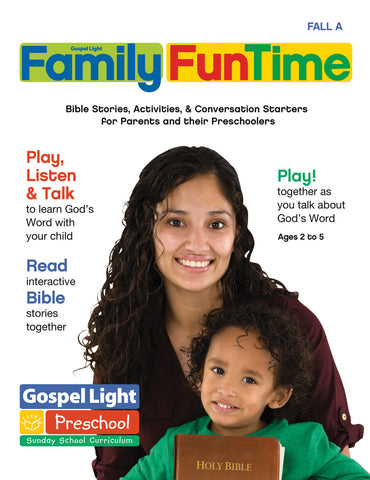 Preschool / Pre-K Family FunTime Take Home Ages 2-5 - Fall Year A