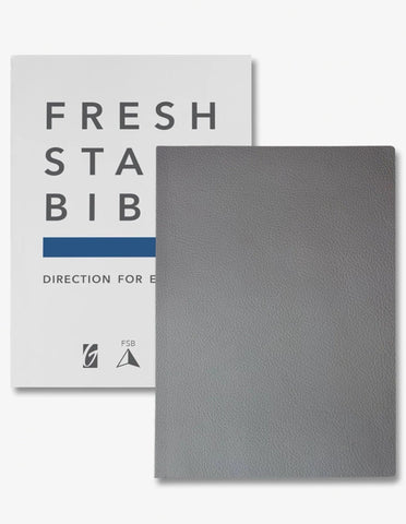 Fresh Start Bible: Premium/Genuine Leather | Gateway Publishing