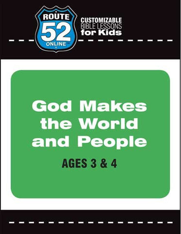 Route 52 - God Makes the World and People (Teachers Kit)