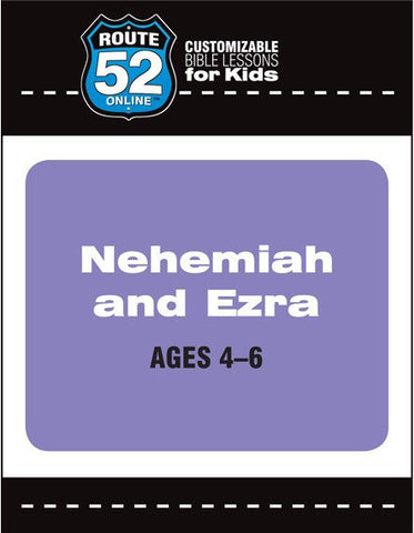 Route 52 - Nehemiah and Ezra (Teacher's Kit)