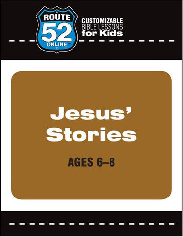 Route 52 - Jesus' Stories (Teacher's Kit)