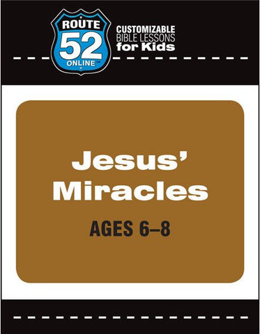 Route 52 - Jesus' Miracles (Teacher's Kit)
