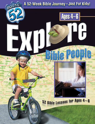 Route 52 Explore Bible People - Standard Publishing
