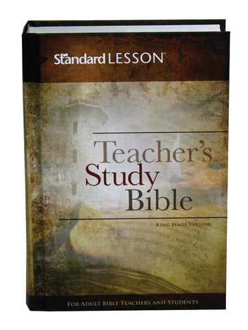 Standard Lesson Teacher's Study Bible (Hardcover)