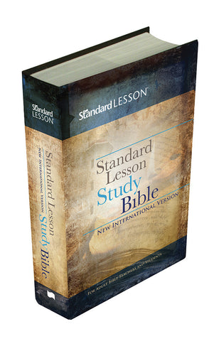 NIV Standard Lesson Study Bible (Hardcover)