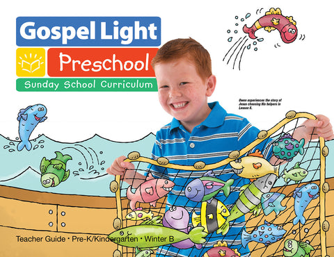 Pre-K Teacher Guide Ages 4 & 5 (Children's Sunday School Lessons)