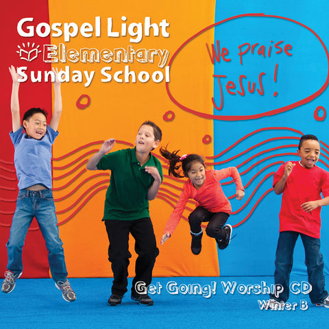 Elementary Kids Get Going! Worship CD Grades 1-4