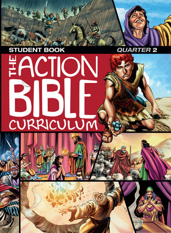 The Action Bible Curriculum Student Book - Quarter 2