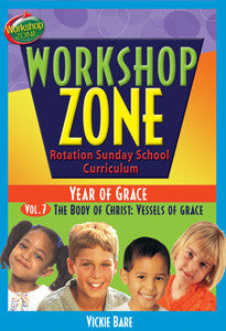 Workshop Zone Year 2, Vol. 7: The Body of Christ (Downloadable Product)