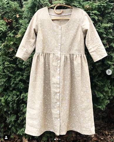 Lahaina Linen Dress