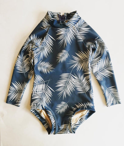 The Wailea Rashguard One Piece
