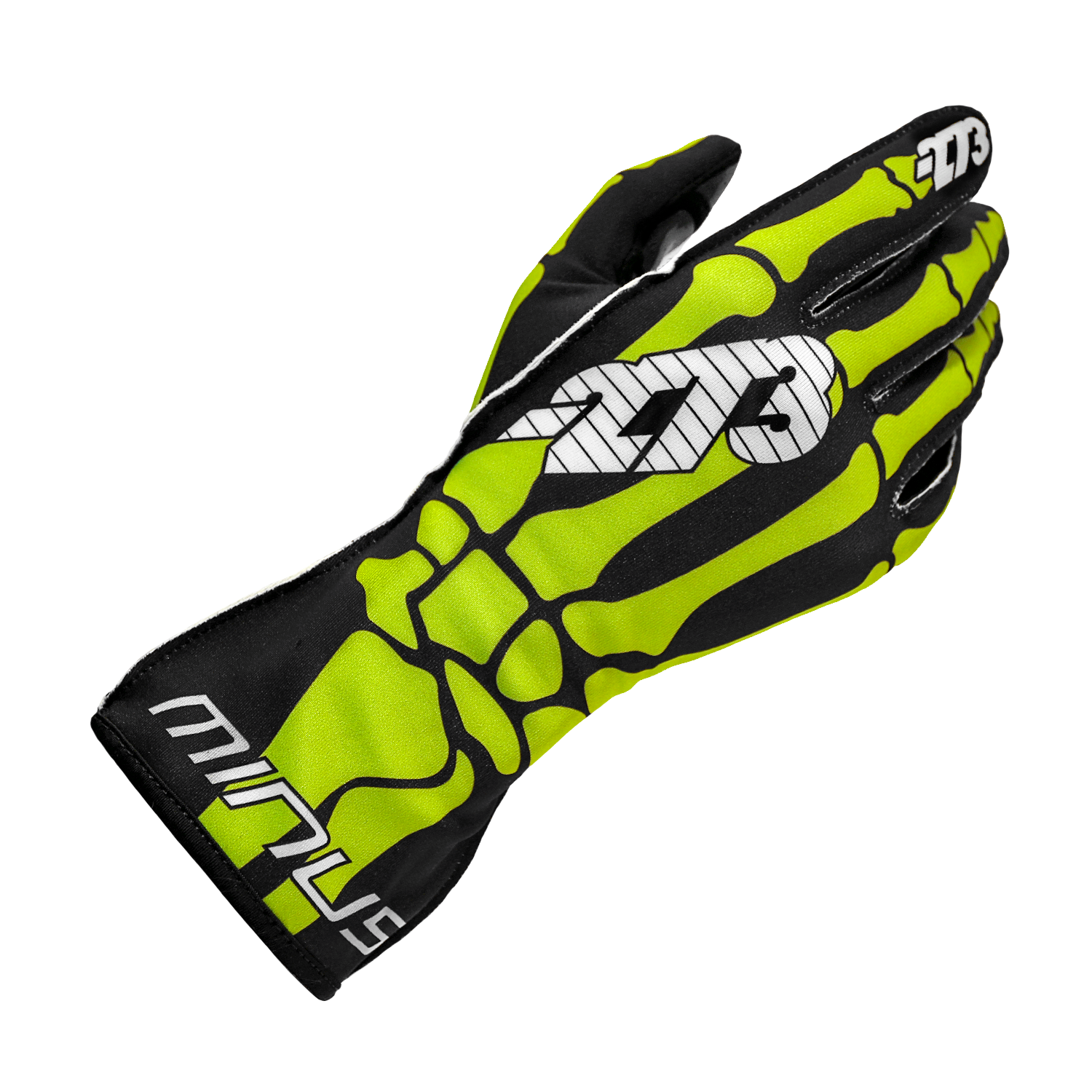 Skeletal Black/Fluo Green/White