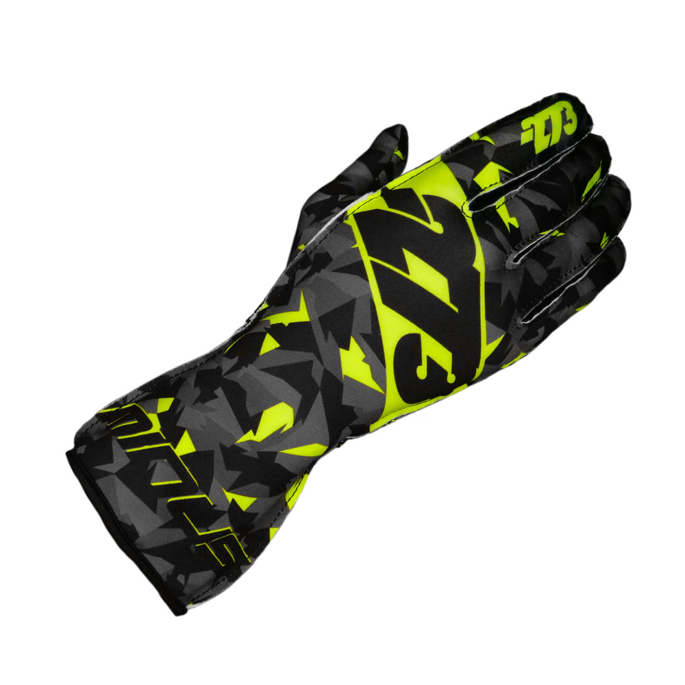 CAMO Black/Gray/Fluo Yellow GLOVE