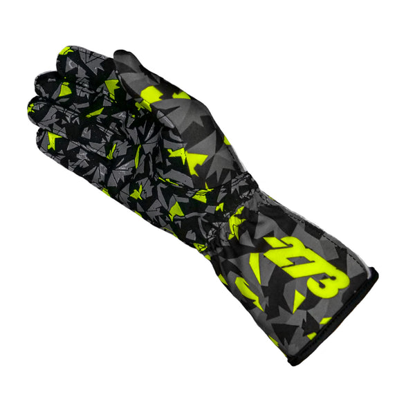 Camo Black/Gray/Fluo Yellow