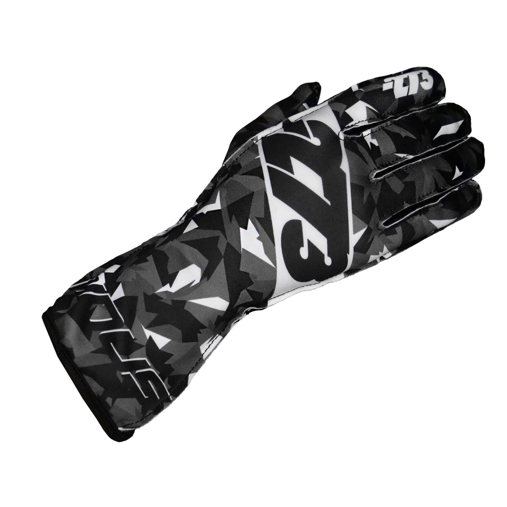 Load image into Gallery viewer, CAMO Black/Gray/White GLOVE