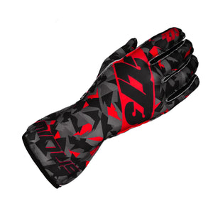 CAMO Black/Gray/Red GLOVE