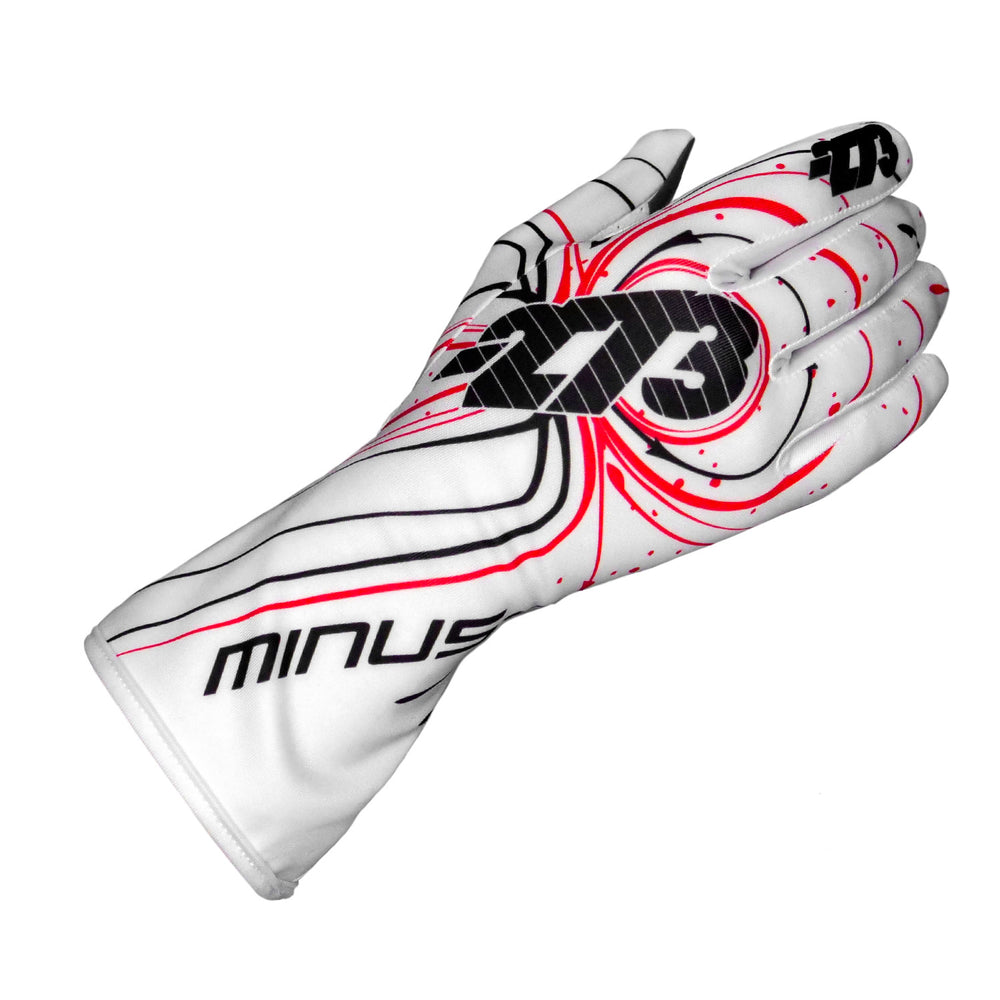 ZERO EVO White/Black/Red GLOVE
