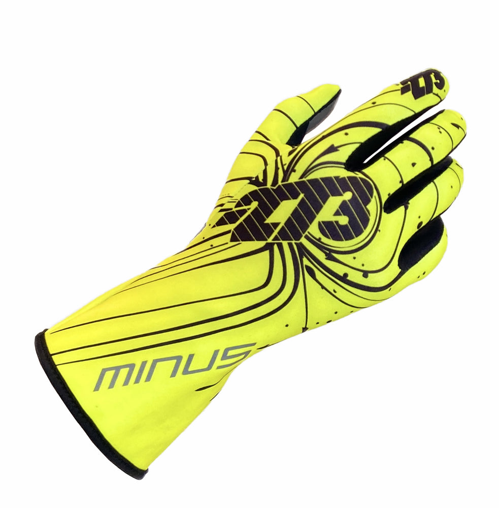 ZERO EVO Fluo Yellow/Black/White GLOVE