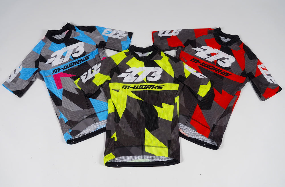 STELVIO MNS Race Bib & Air Jersey - Black/Gray/Cyan/Pink
