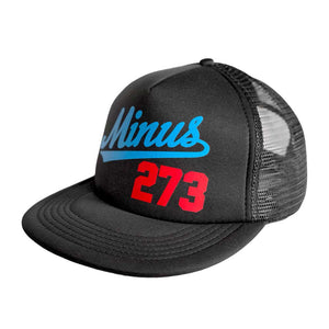 LA Mesh Trucker - Black/Cyan/Red