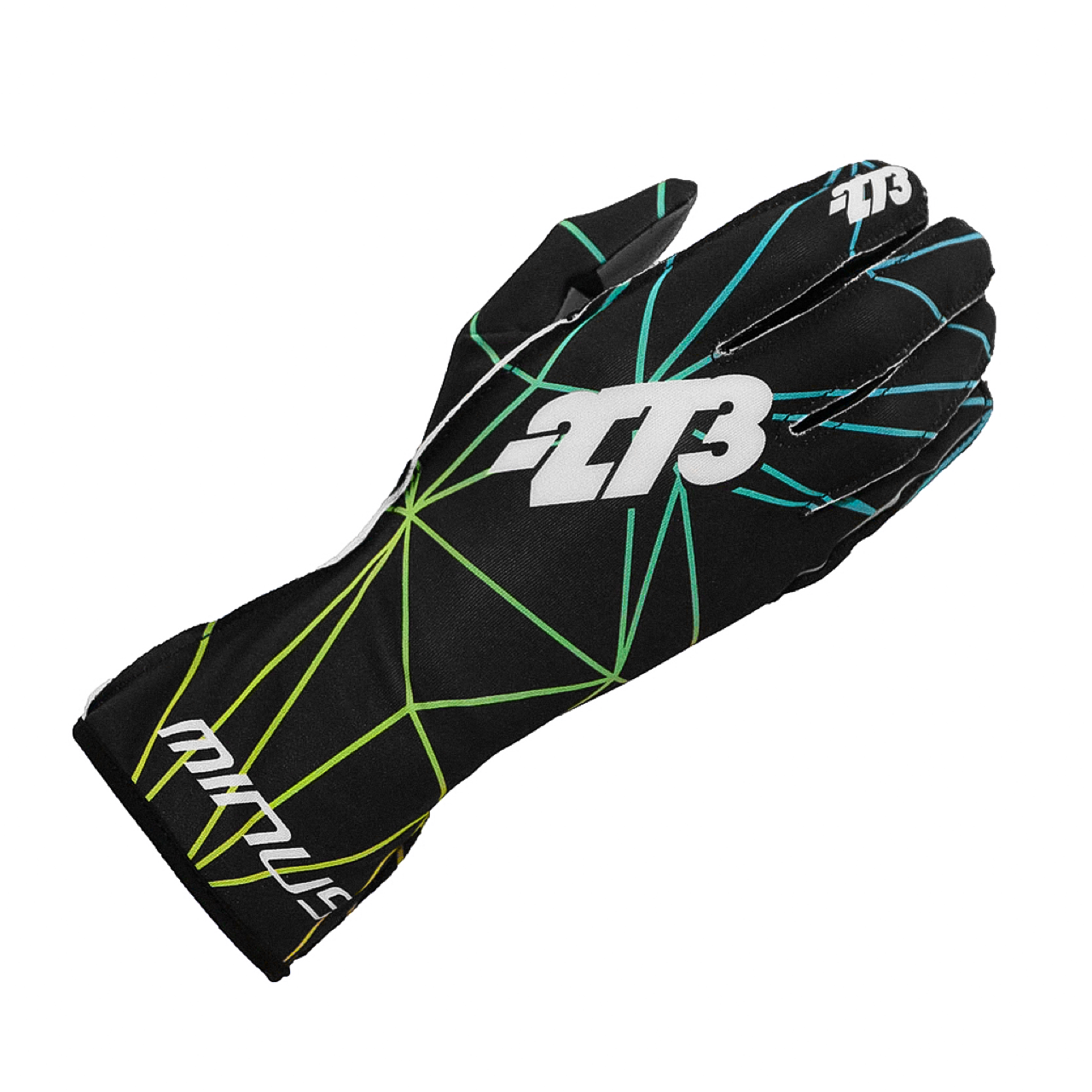 Poly Karting Glove Green