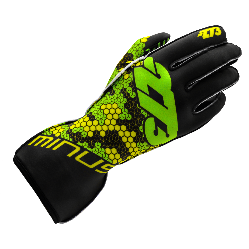 BUZZZ Black/Fluo Green/Yellow GLOVE