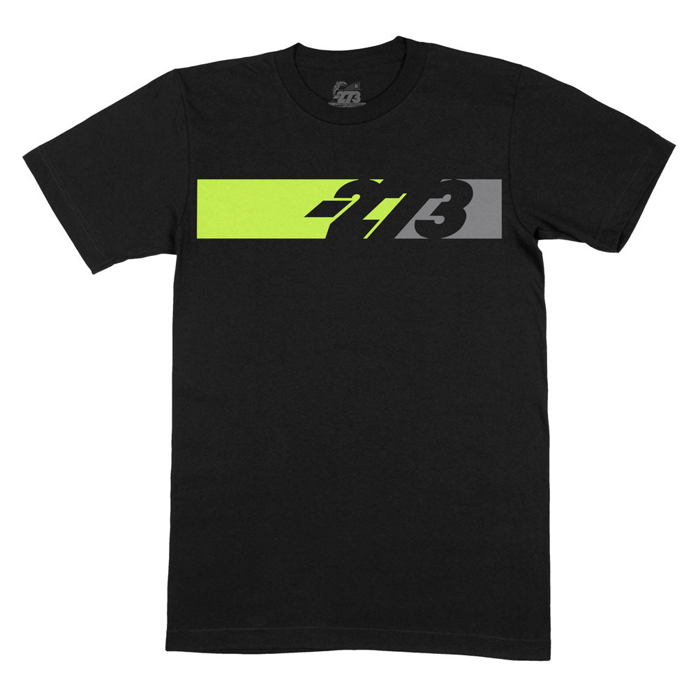 PIT Tee Black/Fluo Yellow/Gray