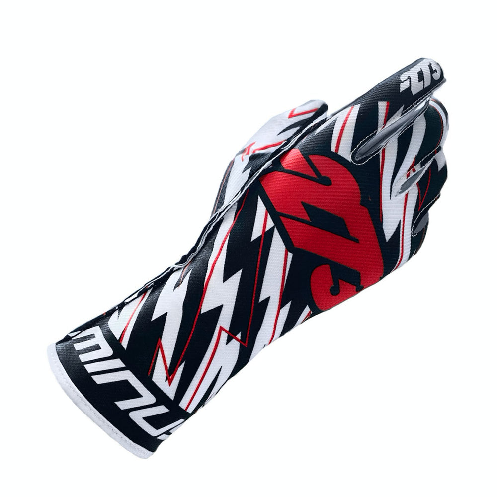 BLITZ Black/White/Red GLOVE