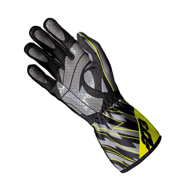 BLITZ Black/Gray/Fluo Yellow GLOVE